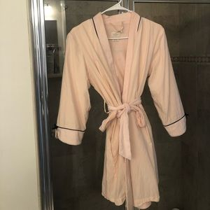 "Kate Spade Blush Bath Robe ""Make Me Blush"""